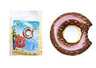 """Надувной плавательный круг """"Пончик"""", 70 см, BT-IG-0058, фото"""