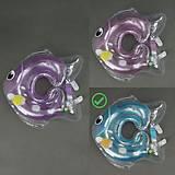 Круг для купания младенца, голубой, 779-707