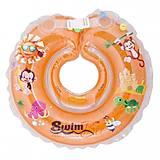 Круг для купания младенцев оранжевого цвета , 300012, отзывы