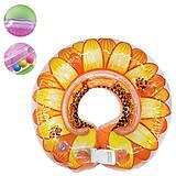 Круг для купания младенцев оранжевый цвет, BT-IG-0061, магазин игрушек