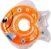 "Круг для купания младенцев ""Рыбка"",оранжевый, Lindo, LN-1565 пом, цена"
