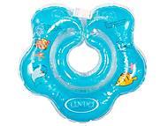 Круг для купания младенцев (синий), LN-1560, купить