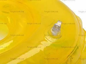 Круг для малыша Baby Swimmer, желтый, , цена