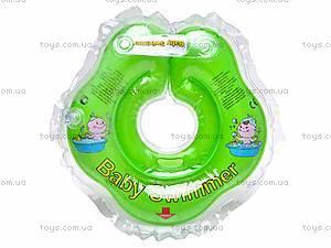 Круг для малыша Baby Swimmer, салатовый,