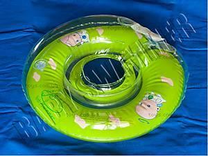 Круг для малыша Baby Swimmer, зеленого цвета,
