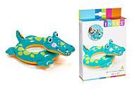 Круг виниловый надувной «Крокодил», 58221 NP, фото