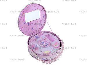 Круглая шкатулка-сумочка, BT-C-052, игрушки