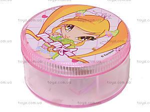 Круглая точилка с контейнером Pop Pixie, PP13-116К, купить