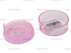 Круглая точилка с контейнером Pop Pixie, PP13-116К, фото