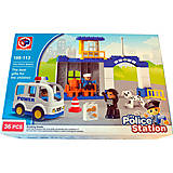 Крупный конструктор Police station, 36 деталей, 188-113