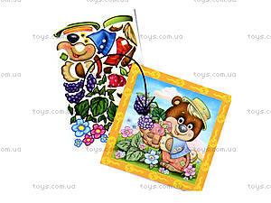 Кристалл-картина «Мишка», VT4010-01, игрушки