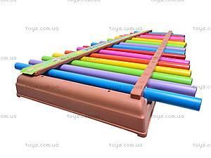 Ксилофон детский «Радуга», 5066, купить