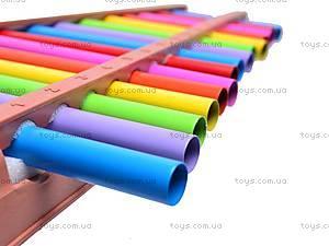 Ксилофон детский «Радуга», 5066, фото