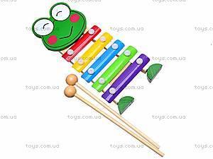 Ксилофон игрушечный «Лягушонок», K22