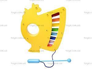 Ксилофон «Курочка», 3381-1, купить