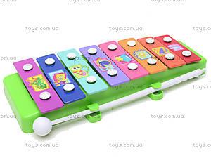 Ксилофон металлический, 3006, toys.com.ua