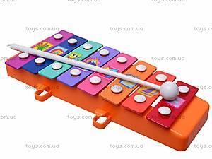 Ксилофон металлический детский, 3006