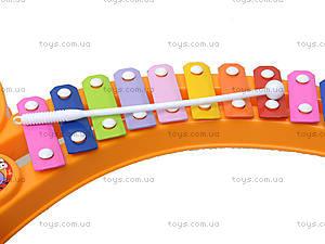 Музыкальная игрушка для малышей «Ксилофон», 123-1B, купить