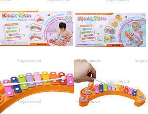 Музыкальная игрушка для малышей «Ксилофон», 123-1B