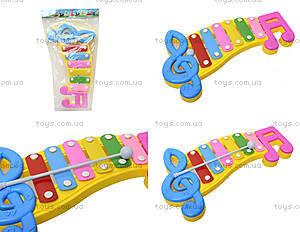 Детский ксилофон «Ноты», 20099, отзывы
