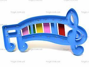 Детский ксилофон «Ноты», 20099, детские игрушки