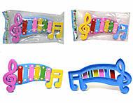 Детский ксилофон «Ноты», 20099, купить