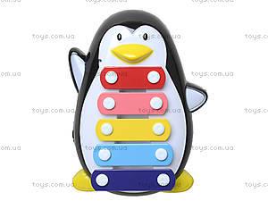 Детский ксилофон «Пингвин», 30112AB, цена