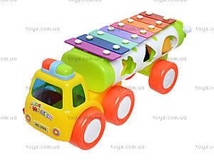 Развивающая игрушка «Грузовик-ксилофон», 3066, фото