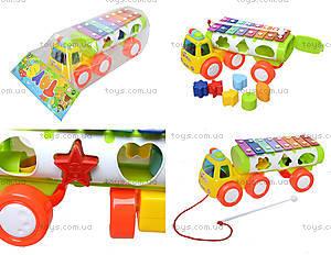 Развивающая игрушка «Грузовик-ксилофон», 3066