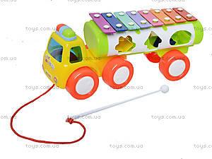 Развивающая игрушка «Грузовик-ксилофон», 3066, цена