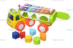 Развивающая игрушка «Грузовик-ксилофон», 3066, детские игрушки