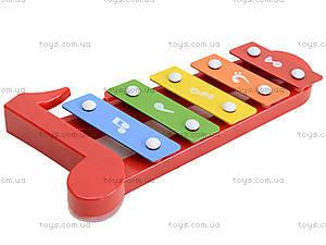 Музыкальный инструмен для настроения, ксилофон, 5200-29, фото
