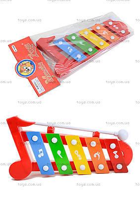 Музыкальный инструмен для настроения, ксилофон, 5200-29