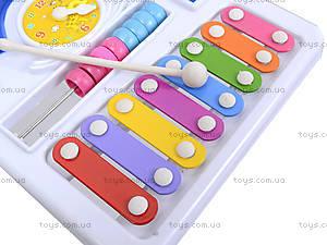 Детский ксилофон «Домик», 8989C4, toys
