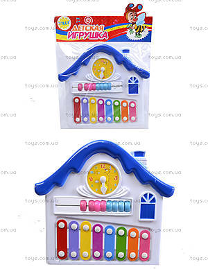 Детский ксилофон «Домик», 8989C4