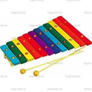 Ксилофон детский деревянный, Д046у