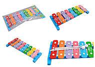 Крутая игрушка ксилофон, 209B, фото