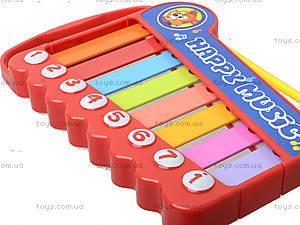 Игрушка «Ксилофон» для детей, 5200-48, игрушки