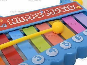 Игрушка «Ксилофон» для детей, 5200-48, магазин игрушек