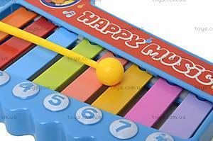 Игрушка «Ксилофон» для детей, 5200-48, toys.com.ua