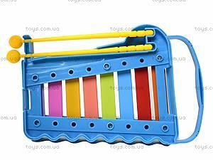 Игрушка «Ксилофон» для детей, 5200-48, toys