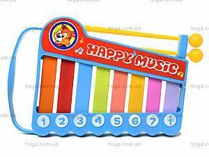 Игрушка «Ксилофон» для детей, 5200-48, іграшки