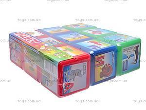 Кубики «Азбука», 0087, фото