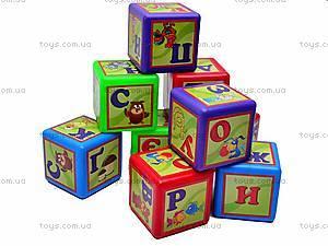 Кубики «Азбука», украинские буквы, 0201