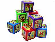 Кубики «Азбука», украинские буквы, 0201, игрушки