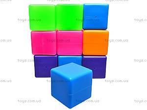Кубики цветные, 20 штук, 1112, отзывы