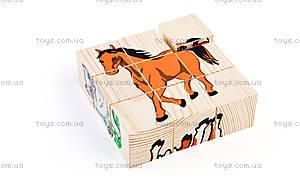Кубики «Домашні тварини», 4444-3