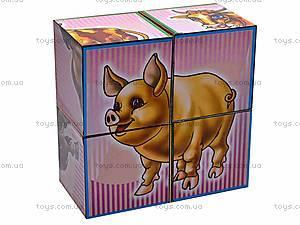 Кубики «Домашние животные», 1837, детские игрушки