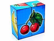 Кубики «Фрукты», 1332, оптом