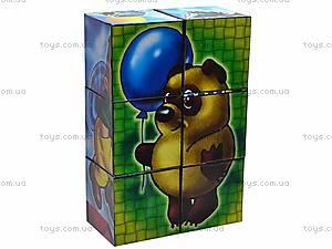 Кубики «Герои мультфильмов», 0885, отзывы